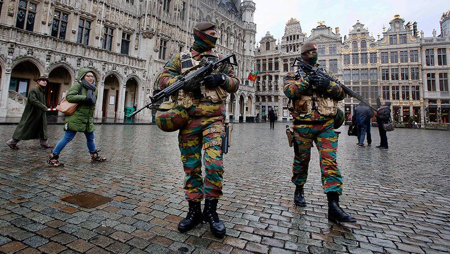 Усиленные меры безопасности в Брюсселе после терактов