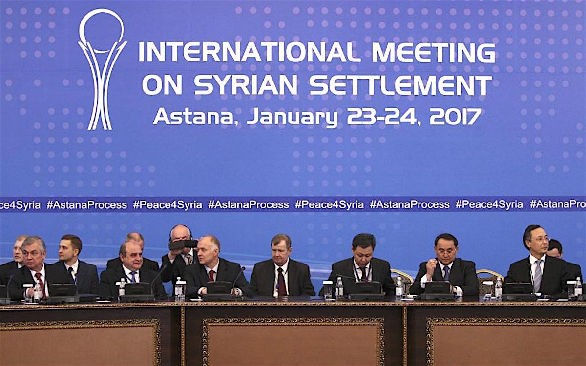Переговоры в Астане