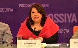 Галина Сапожникова получила высшую награду Союза журналистов России «Золотое перо»