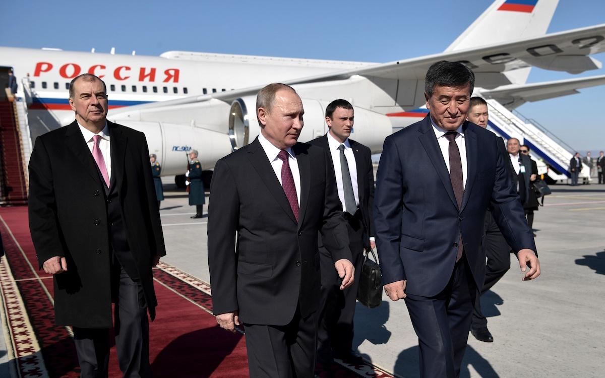 Визит Путина в Среднюю Азию