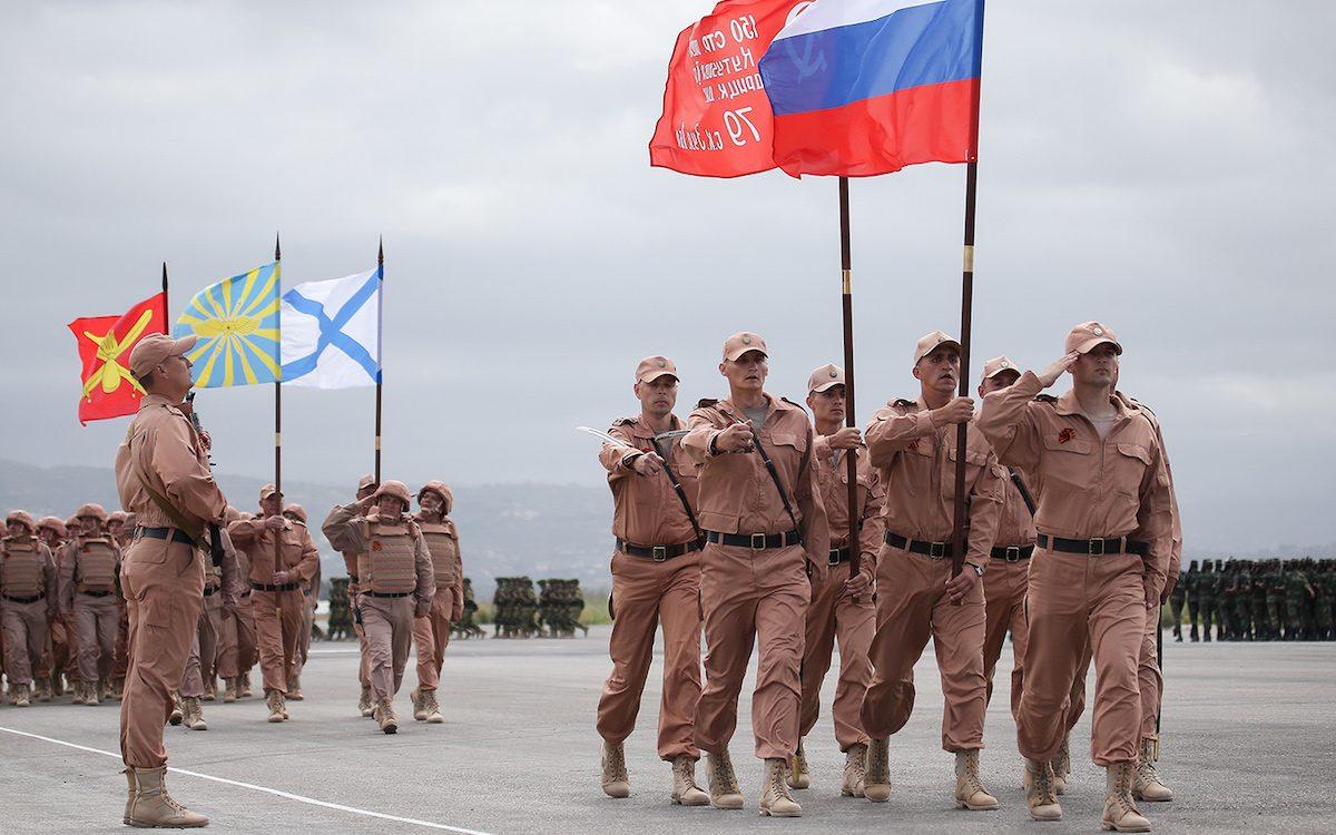 Pоссийские военные действуют в Сирии на законных основаниях