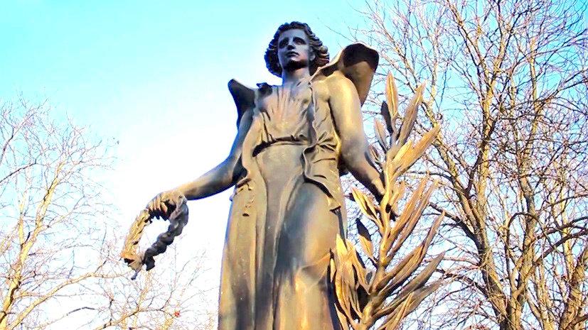 Венгрия. «Ангел мира» — памятник русским солдатам в Эстергоме