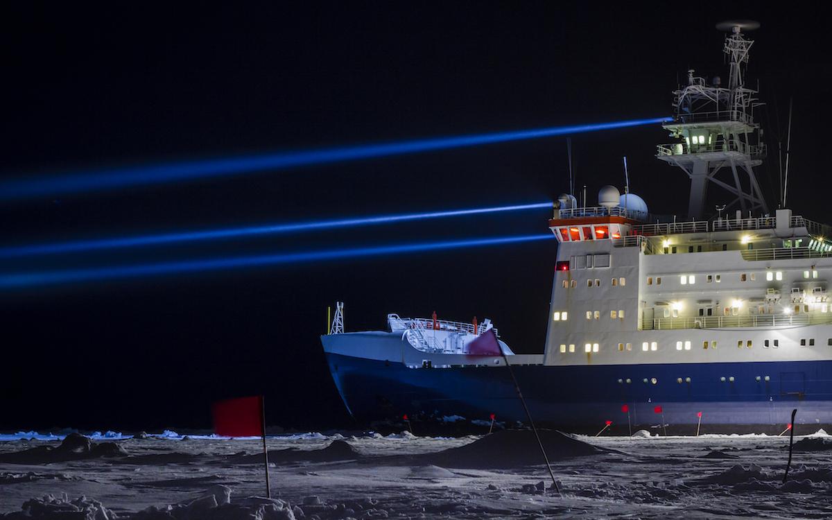 Сквозь льды Арктики