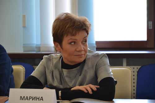 Марина Сафронова