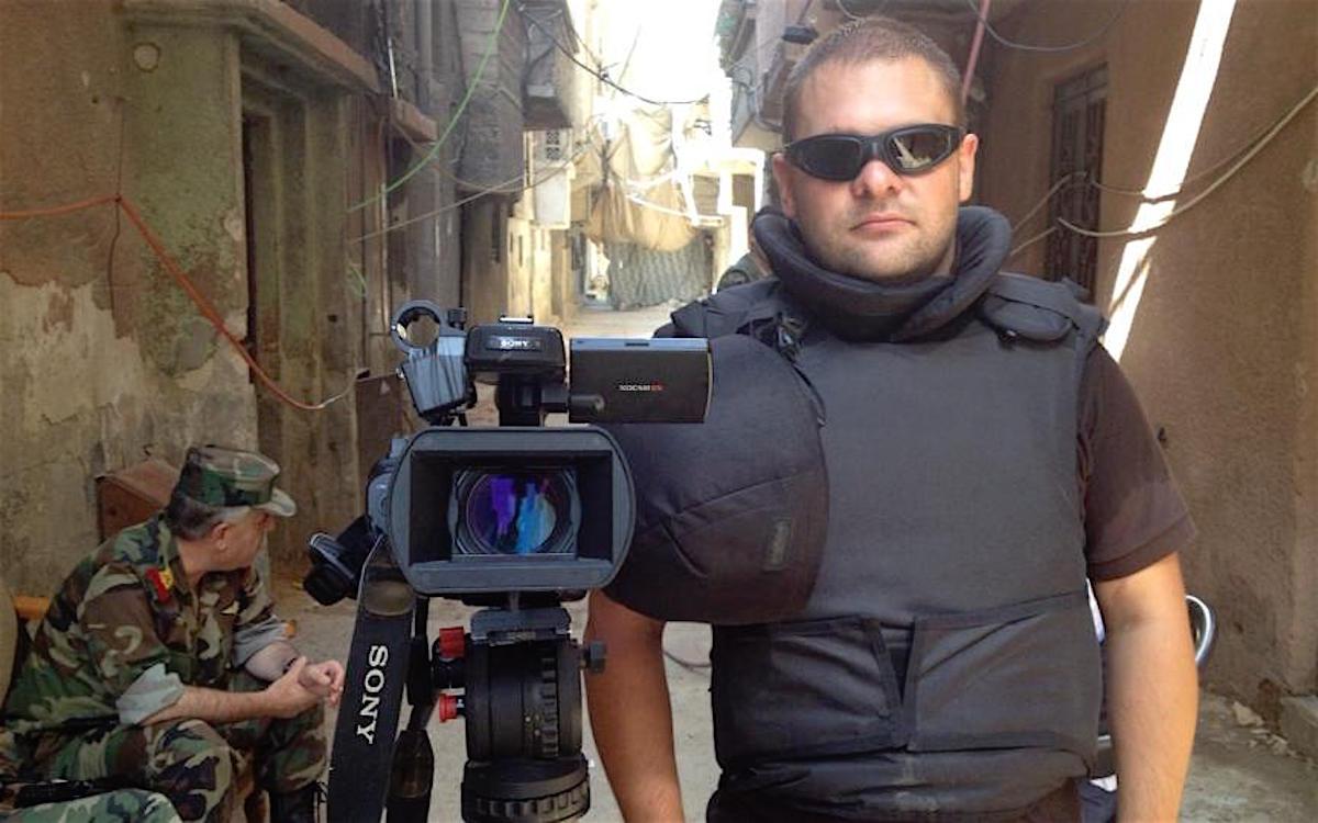 «Алеппо. Освобождение». Евгений Поддубный, Россия