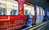 Русский поезд в лондонском метро. Менделеев