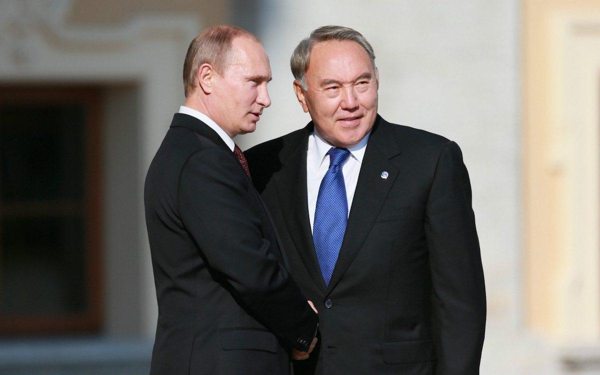 Встреча Путина и Назарбаева в Челябинске