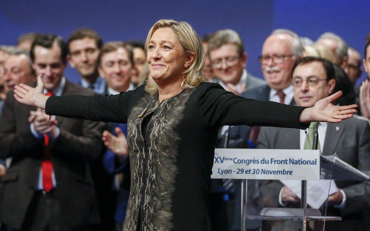 Марин Ле Пен возвращается