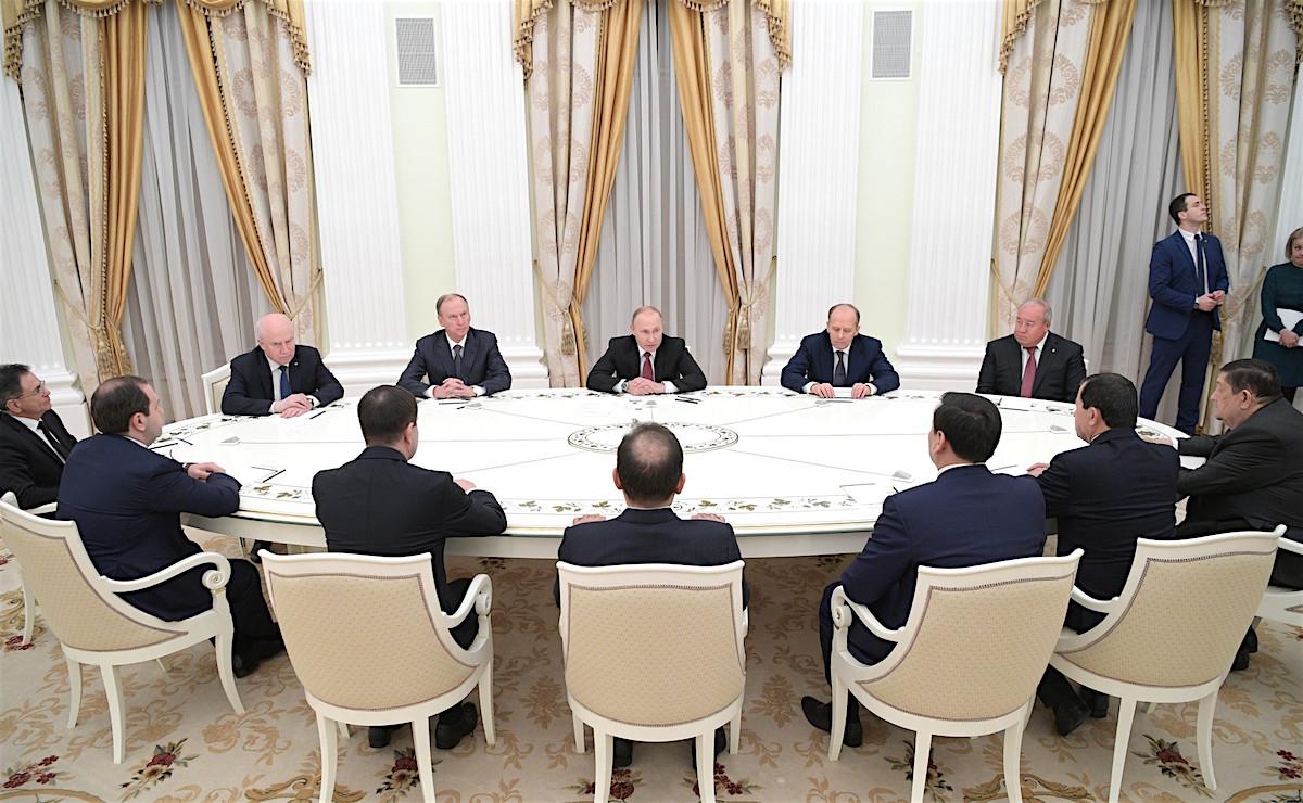 Заседание Совета руководителей органов безопасности и спецслужб стран СНГ