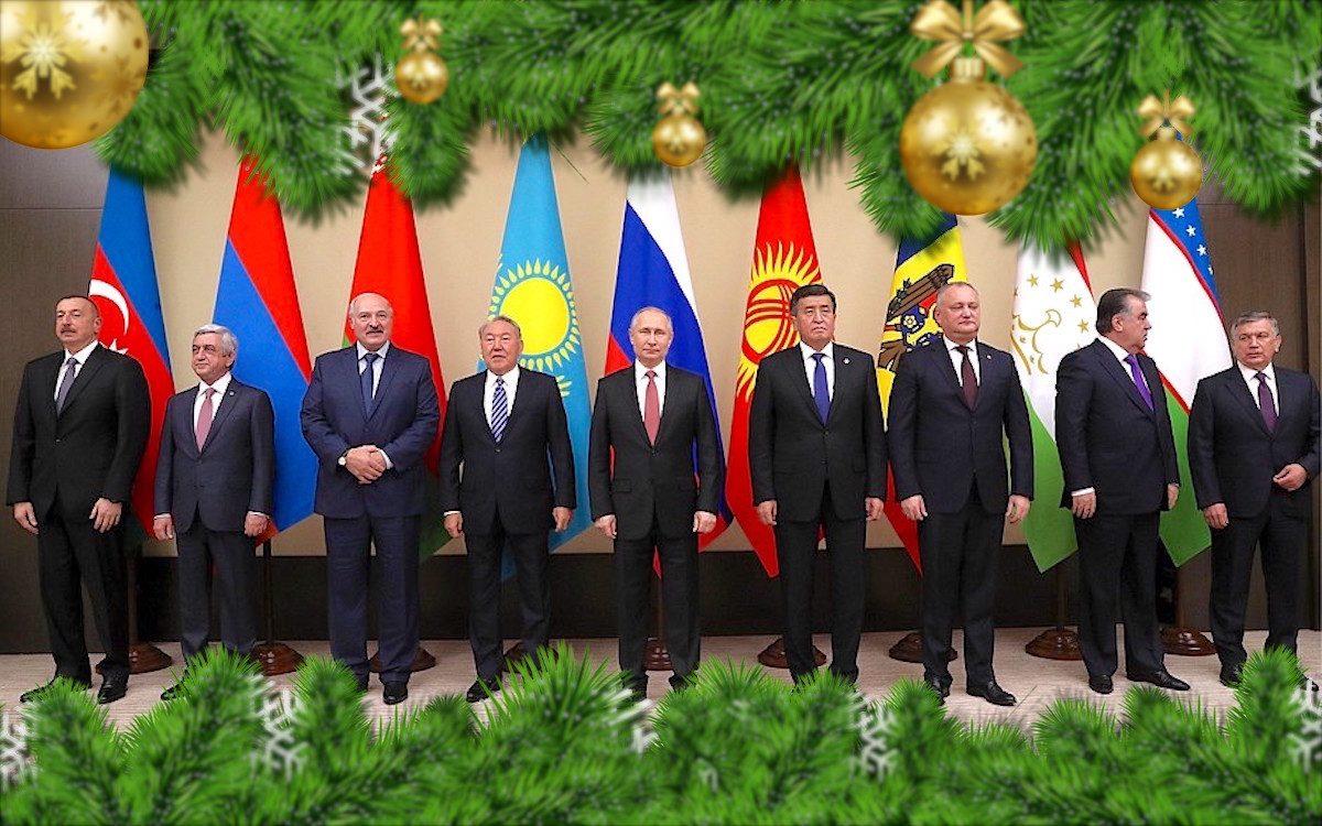 СНГ — итого года. Неформальная встреча лидеров