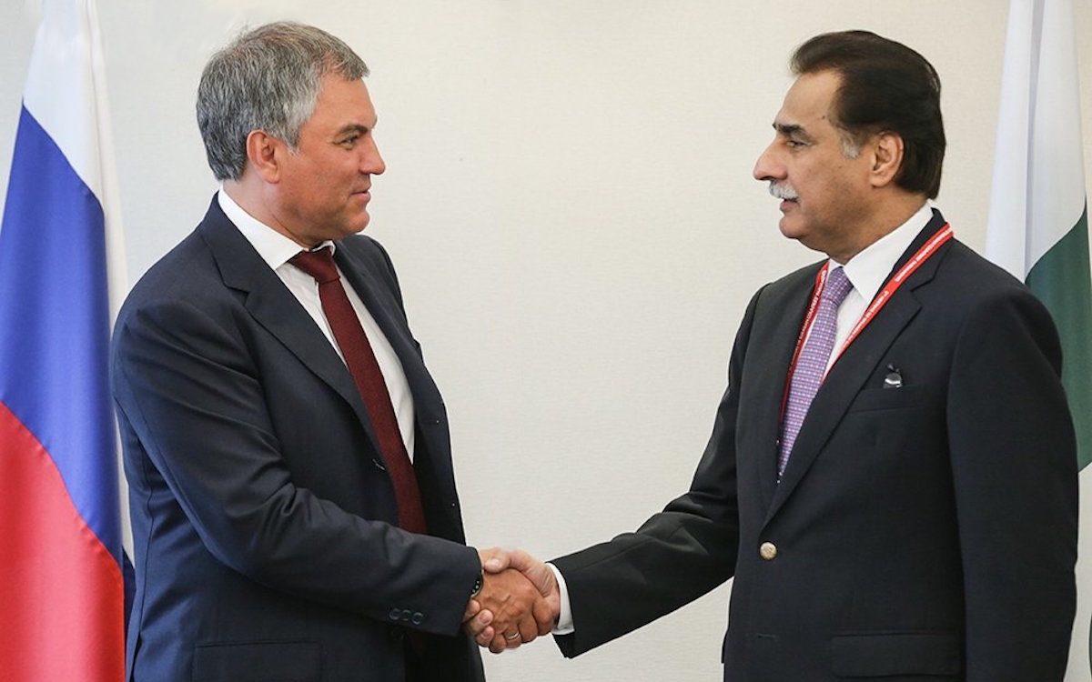 Вячеслав Володин и Садар Айяз Садик