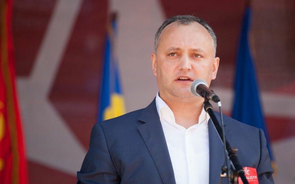 Игорь Додон, президент Республики Молдова
