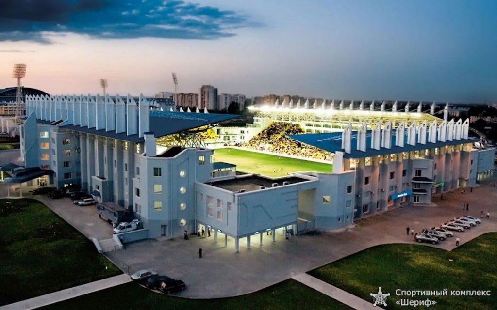 Спортивный комплекс «Шериф» на западной окраине Тирасполя. Общая площадь — 65 га. Современный футбольный стадион на 13300 мест. Был зарегистрирован в соответствии с техническими рекомендациями УЕФА