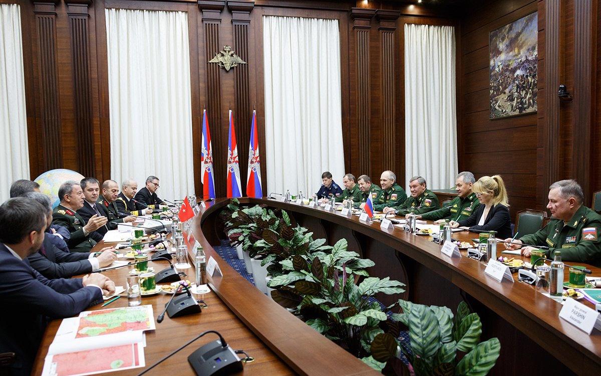 встречу  представителей генеральных штабов