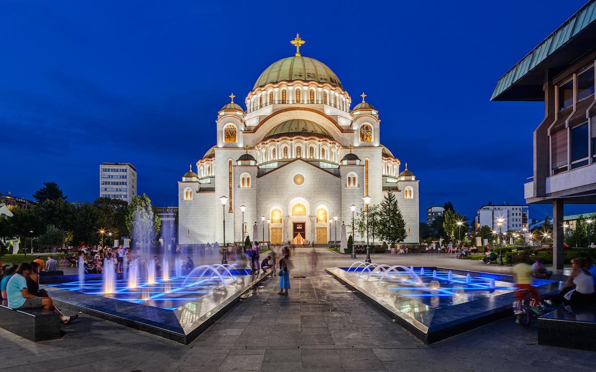 Собор святителя Саввы Сербского в Белграде