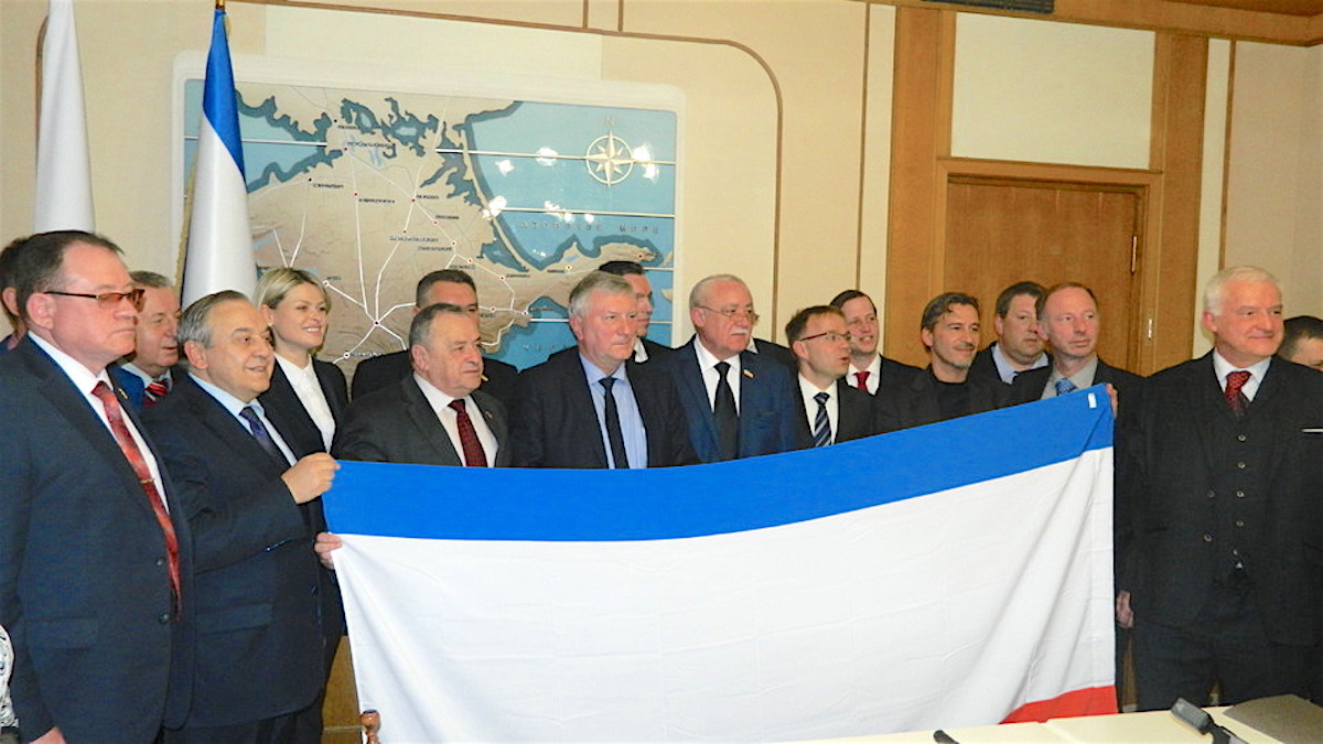 Немецкая делегация в Крыму