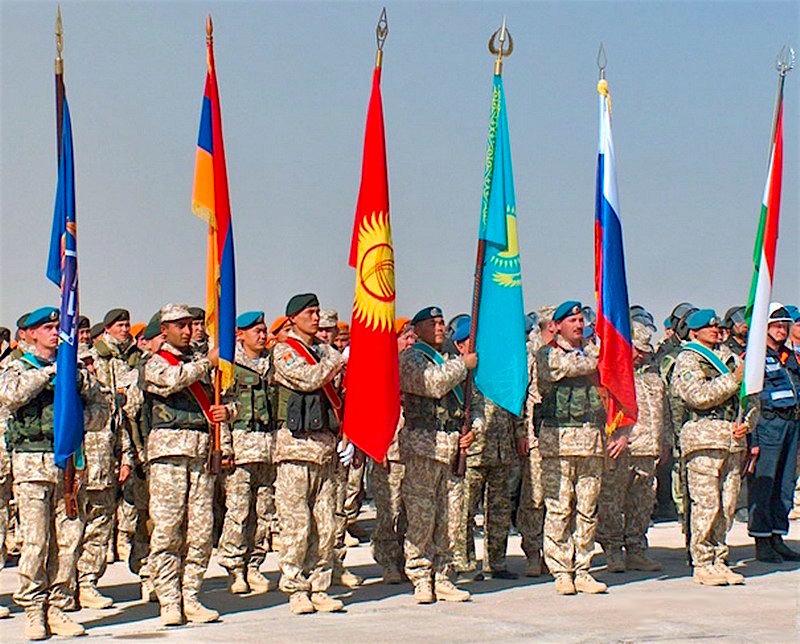 ОДКБ - контингент миротворческих сил