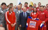 Владимир Путин поддержал российских олимпийцев