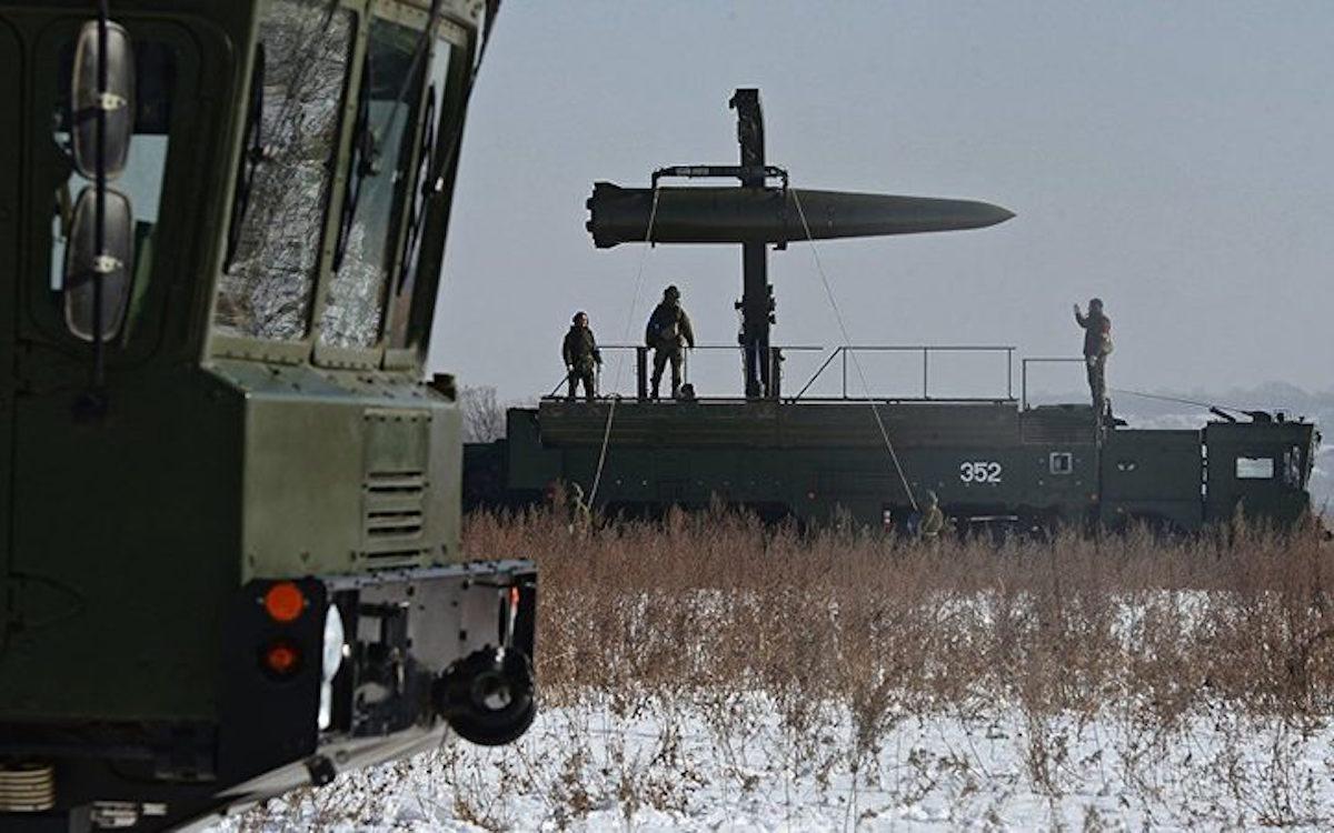 «Искандер-М» / Источник: sputnik-news.ee