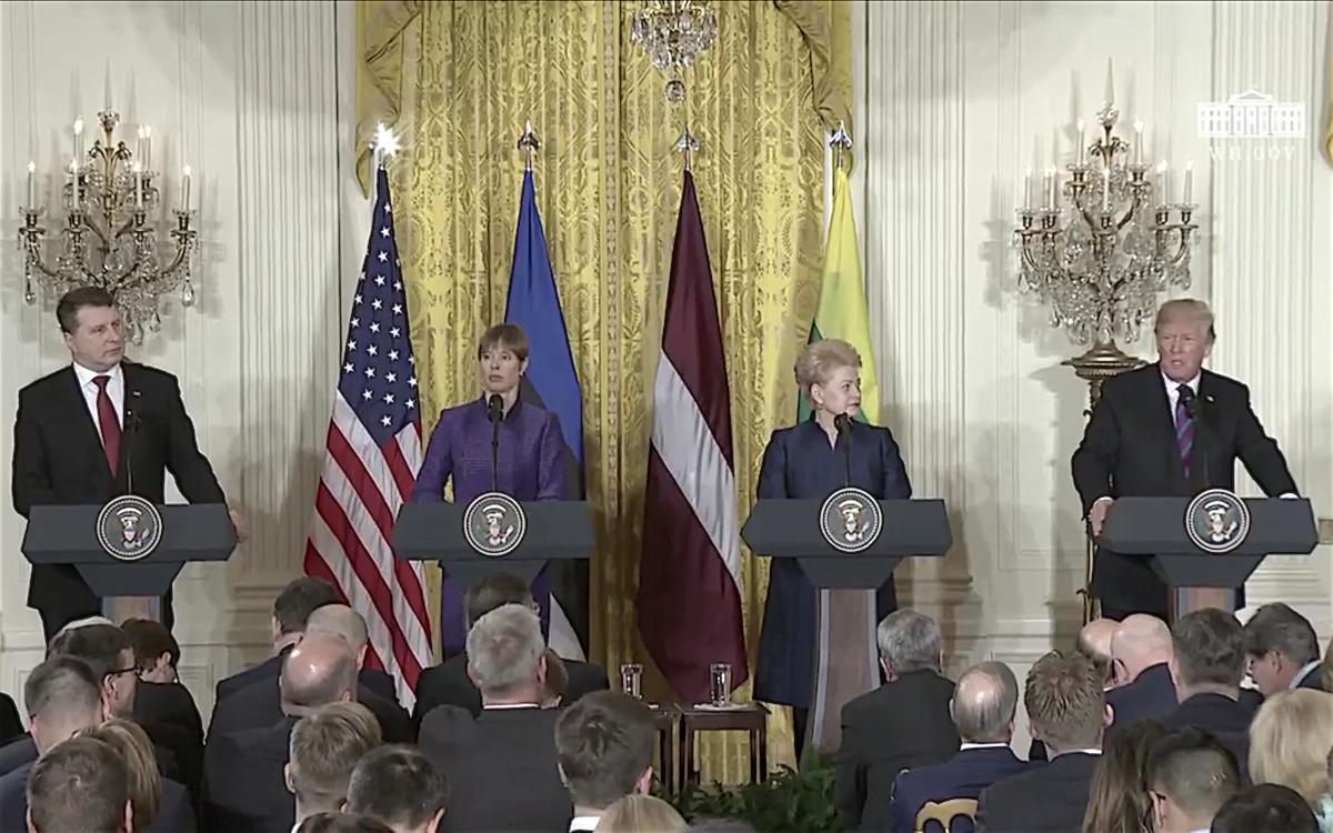 Трамп не называл руководителей стран Балтии глупцами