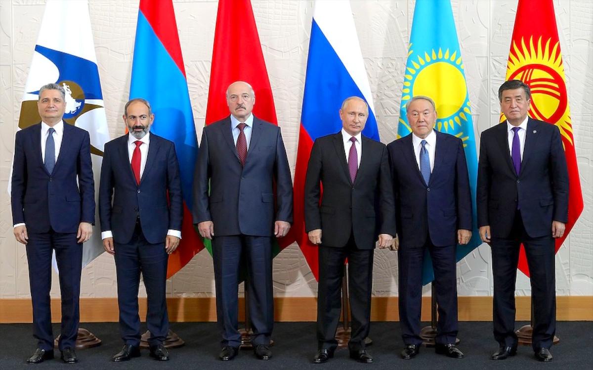 В Сочи состоялось заседание Высшего Евразийского экономического совета…