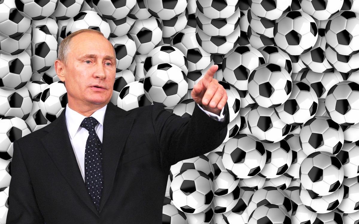 В.Путин. Не футболом единым…