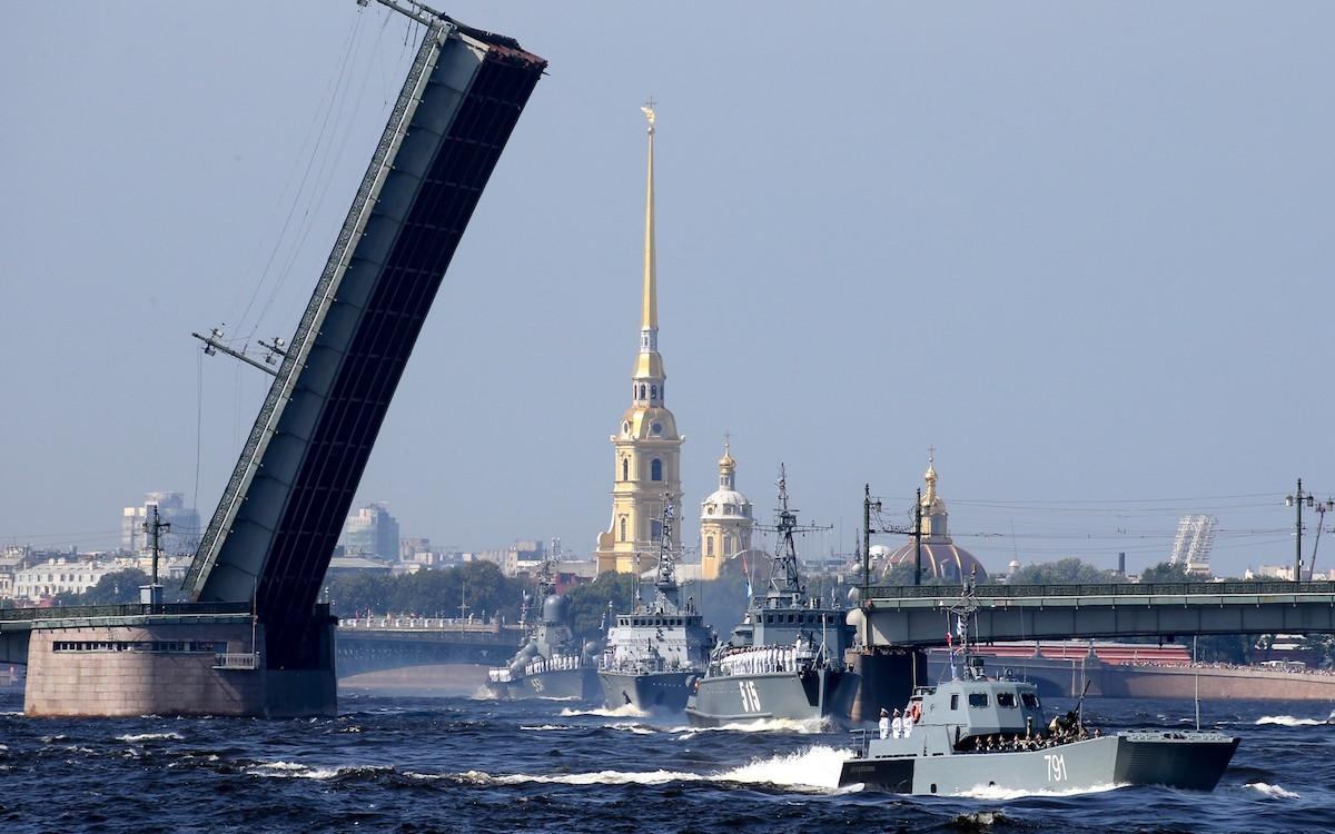 День ВМФ РФ. С-Петербург. 29.07.2018