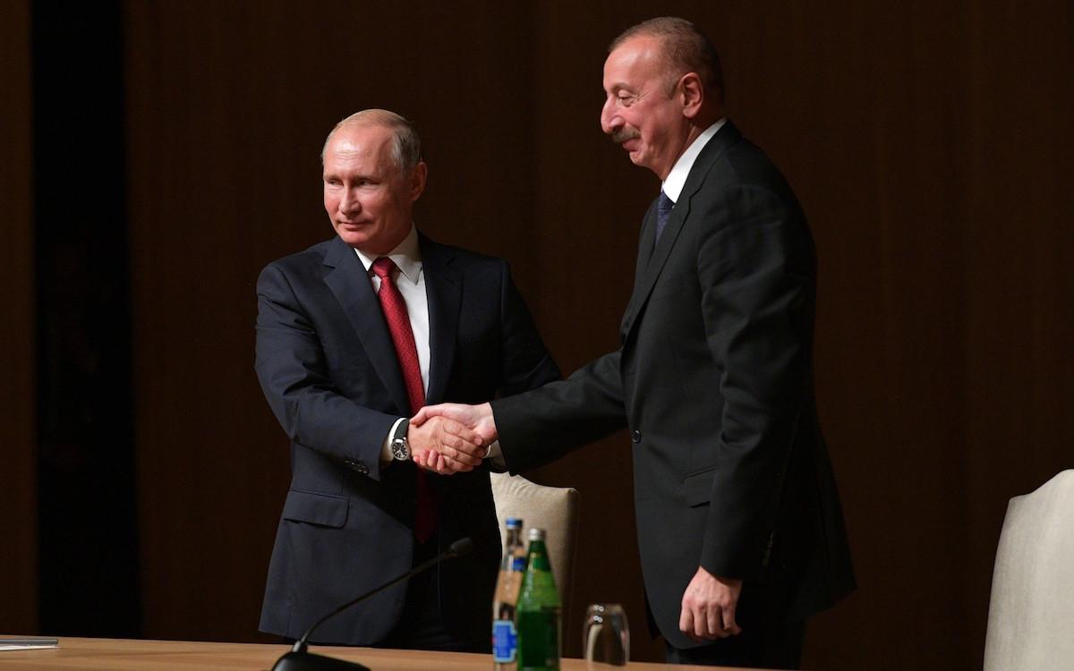 В.Путин и И.Алиев