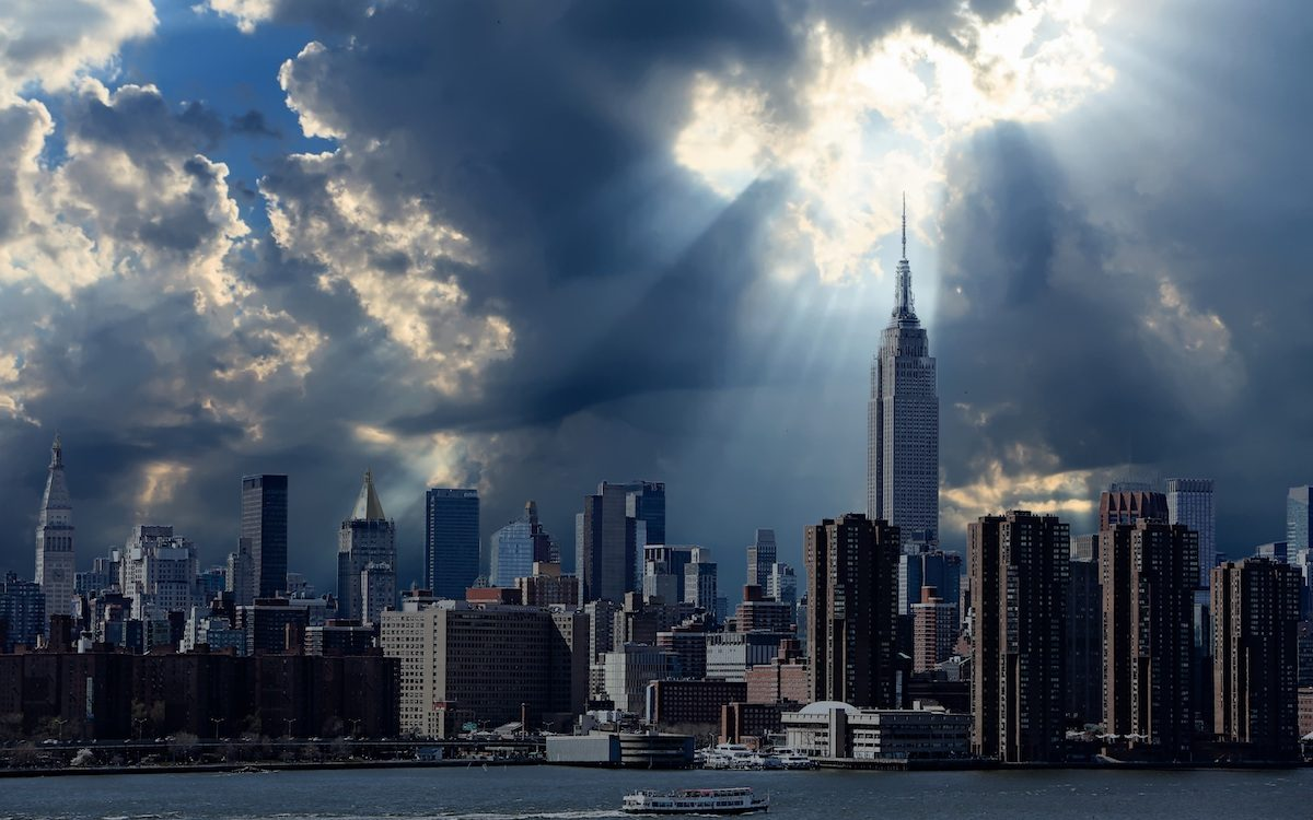 Русские НЛО над Лондоном и Нью-Йорком