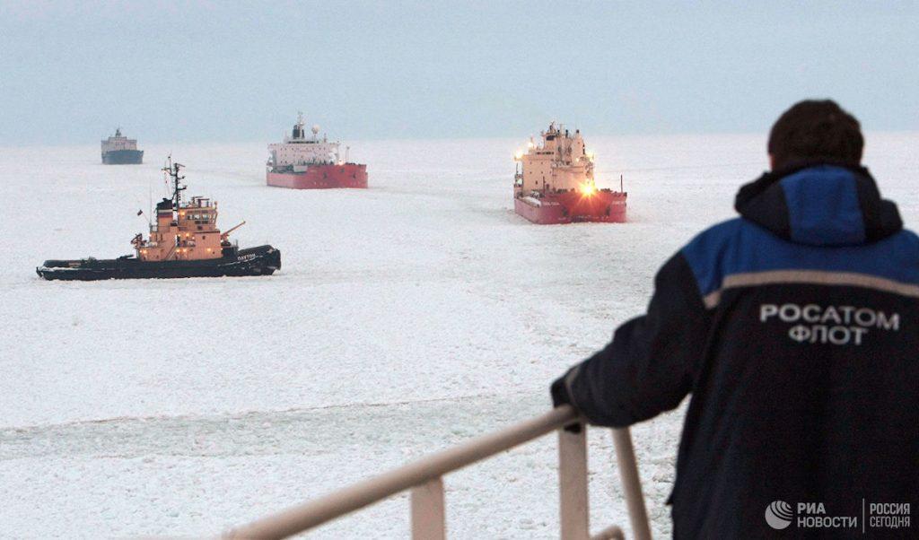 Конкурентов в Арктике у России пока не наблюдается