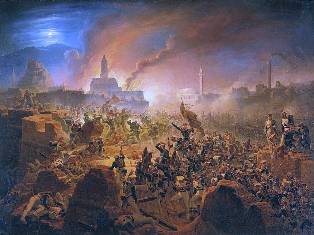 Штурм крепости Ахалцых 15 августа 1828 г.