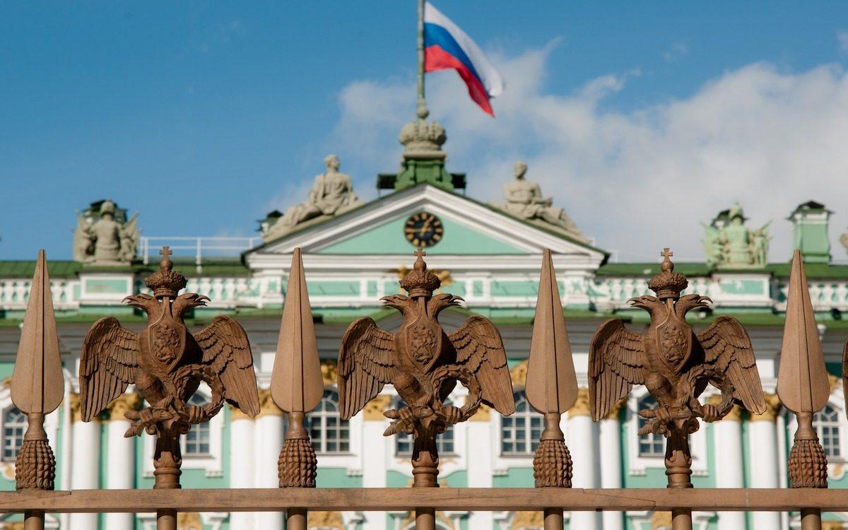 Петровский флаг. Советский гимн