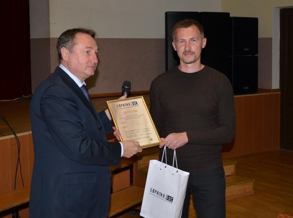 Валерий Шеховцов и Иван Жимаев (слева-направо)