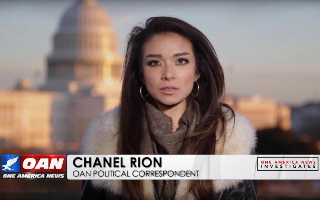 Шанель Рион. One American News Network