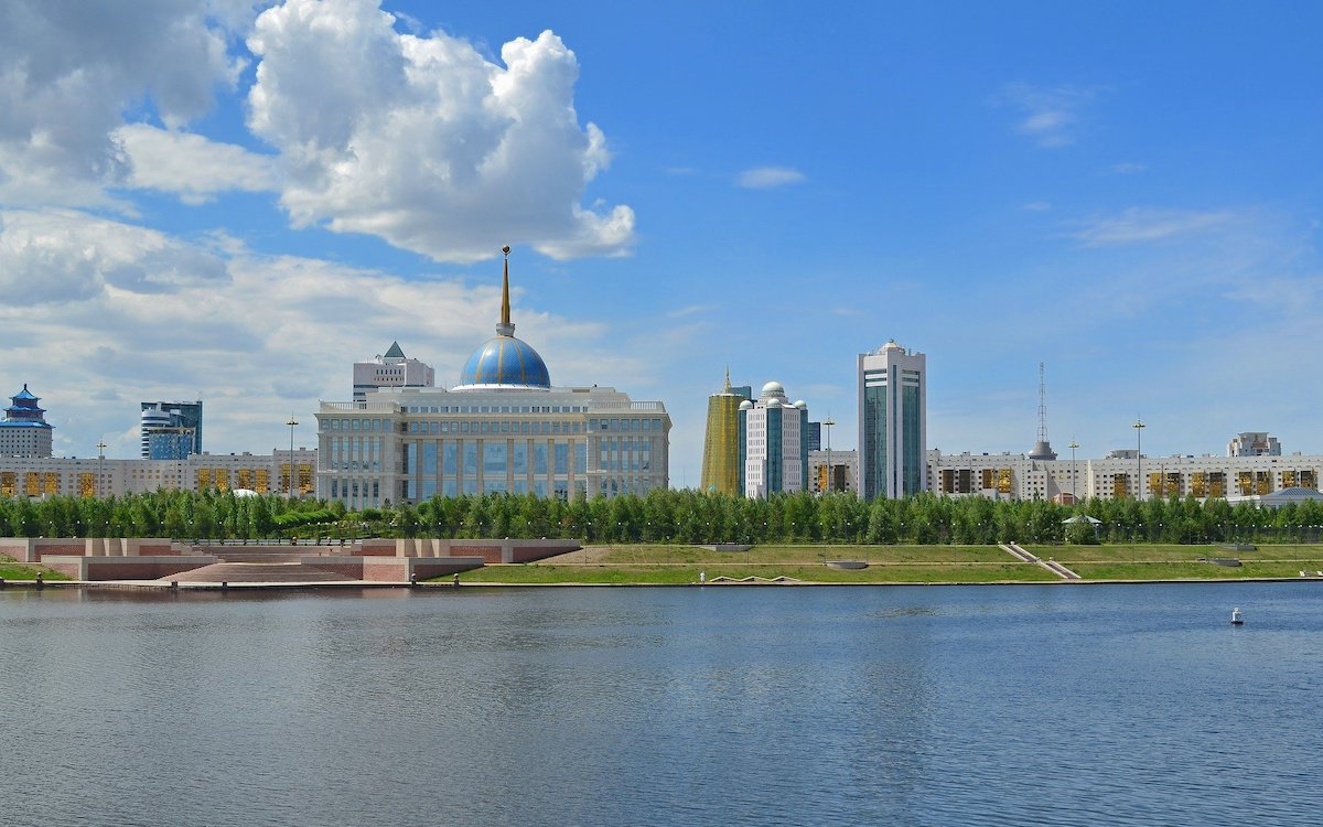Нур-Султан (Астана). Президентский дворец