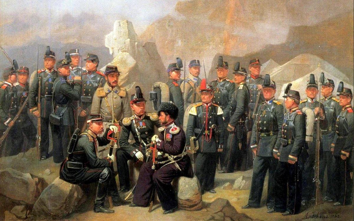 Гебенс Адольф Иванович. Пехота Кавказского корпуса (1840 - 1863). Фрагмент